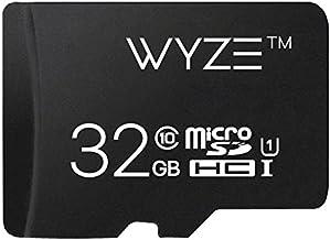 Wyze Labs Expandable Storage 32GB MicroSDHC Card Class 10