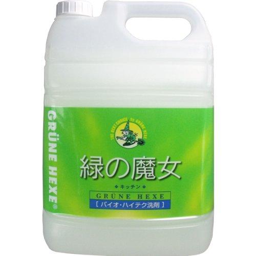 【大容量】 緑の魔女 キッチン(食器用洗剤) 5L