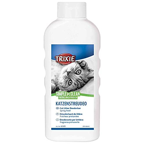 Trixie 42405 Simple'n'Clean Katzenstreudeo, Frühlingsfrisch, 750 g