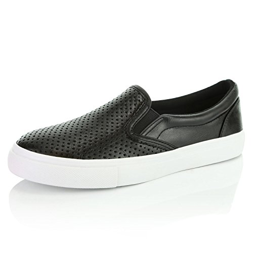 Mocasines Negros Mujer  marca DailyShoes