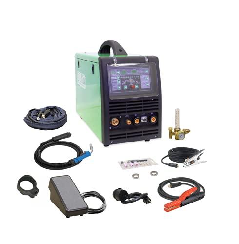 2019 Everlast PowerMTS 251Si Pulse MIG TIG Stick 250amp 110v/220v Multi Process Welder