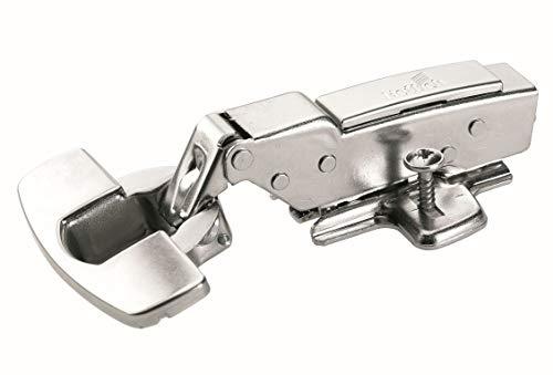Hettich 9219542 Sensys Topfscharnier (Türscharnier, Scharnier) -für Türdicke 15-22 mm-perfekte Dämpfung,6 STK, vernickelt
