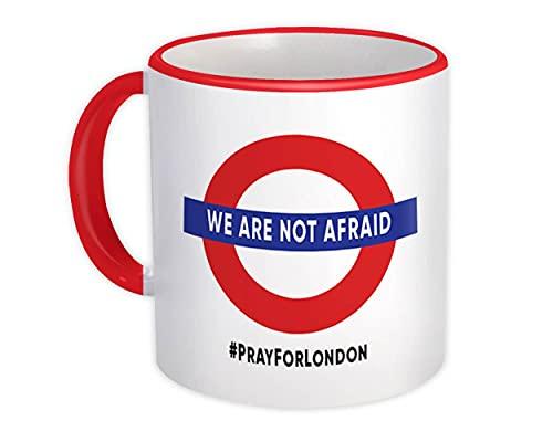 No tenemos miedo : Taza de Regalo : Oración de la campaña del metro de Londres