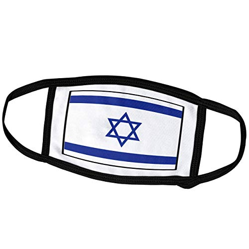 Promini Monatsmaske – Florene Weltflagge Knöpfe – Foto von Israel Flagge Knopf – Staubmaske Outdoor-Schutzmaske