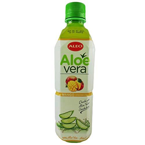 Getränk mit Aloe Vera Stückchen 500ml verschiedene Sorten inkl. 0,25€ Einwegpfand (Mango)