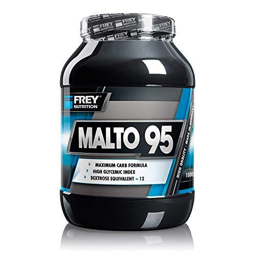 FREY Nutrition MALTO 95-1000g Dose - Maltodextrin Pulver für den Muskelaufbau - Optimal für die Glykogenauffüllung der Muskulatur - Frei von künstlichen Farb-, Aroma- und Süßstoffen - Made in Germany