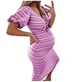 Schwangere Frauen Fotografie Stützen, Schwanger Kleid Maternity Gown Split Front Foto Shoot Kleid, Mutterschaft Fotografie Kleidung Schwangerschafts Maxikleid Schwangerschafts Kleid