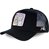 Anime Rick and Morty Cap Cotton Baseball Cap Heren Dames Hip Hop Dad Mesh Trucker, Rick Morty