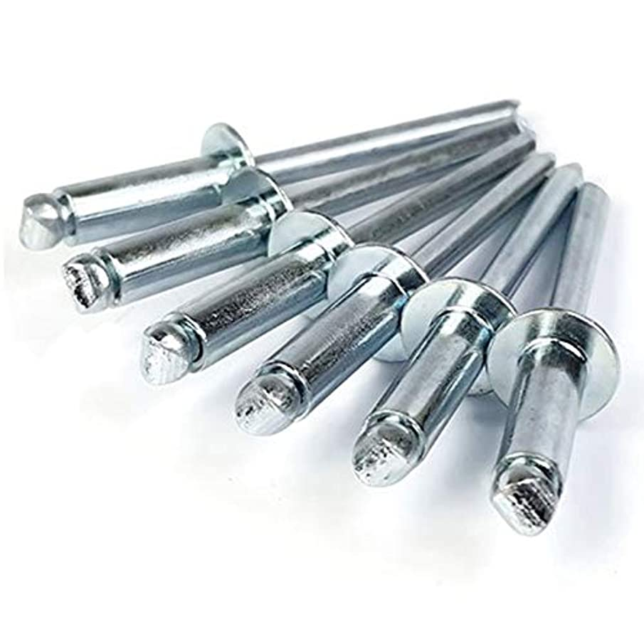 Pop Rivets 1/4 Inch Diameter #8 All Steel Blind Rivets 8-16, 1/4