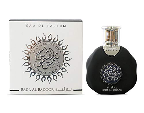 Perfume Shams Al Shamoos 35 ml, agua de perfume unisex, perfume árabe, Oud Oriental, perfume para hombre, Attar Mujer, almizcle Halal Notas: (Badr Al Badoor).