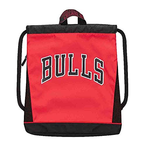 Panini Mochila con cordón NBA Chicago Bulls Red/Black, 64761