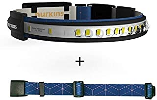 hurkins Orbit, 180˚ Wide Angle 1000 Lumens Rechargeable Waterproof LED Headlamp. Great for Camping, Hunting, Runners, Hiki...