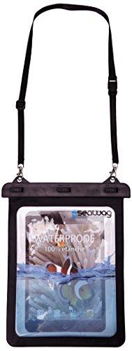 Seawag Pochette étanche et imperméable pour mini tablette tactile de type iPad mini Noir 16 x 24 cm