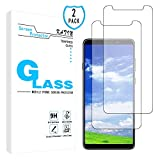 KATIN Galaxy A9 2018 Screen Protector - [2-Pack] Tempered Glass...