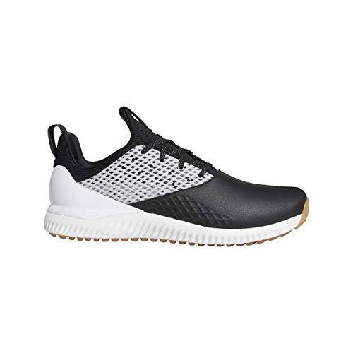 adidas Herren Adicross Bounce 2 Golfschuhe, Schwarz (Negro/Plata/Blanco G26009), 45 1/3 EU