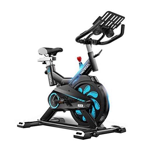 Bicicleta de ejercicio Girar La Bicicleta Estática Magnética Mujer Inicio Cubierta Ejercicio De La Gimnasia For Pies Bicicleta Estática De Control (Color : Black, Size : 98 * 50 * 105cm)