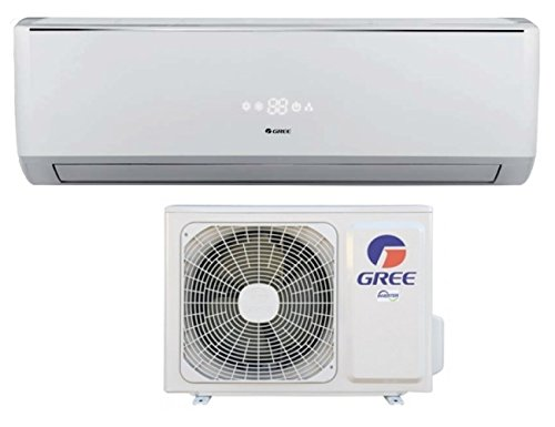 Inverter-Klimaanlage Lomo 12000BTU Gree Energieklasse A + +/A +–mit Wärmepumpe/Entfeuchtung