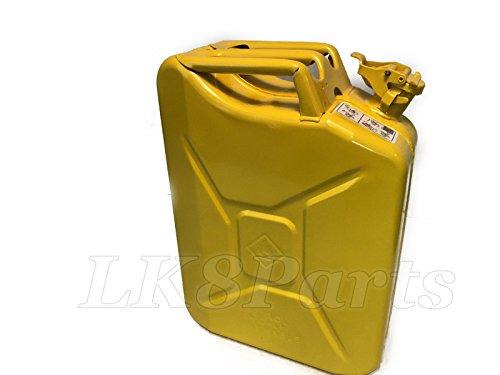 Wavian Steel Jerry Can Yellow Can 20L / 5 Gallon NATO Spec