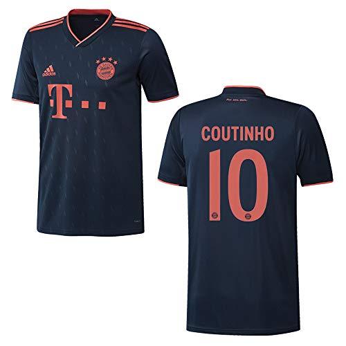 adidas Bayern Trikot 3rd Herren 2020 - Coutinho 10, Größe:S