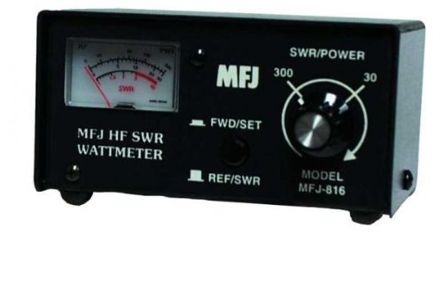MFJ-816 SWR Meter, 1.8-30MHz, 30/300W. Buy it now for 56.39