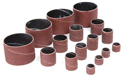 WEN DS164SPC 16-Piece Replacement Sanding Drum Sandpaper Kit, Assorted Grits