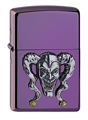 Zippo Joker Emblem-Abyss Collection 2018 Mechero, Cromo, Plata, 6 x 4 x 2 cm