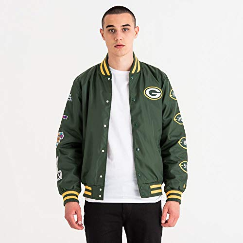 A NEW ERA NFL Packers Champion Bombr Vest voor heren