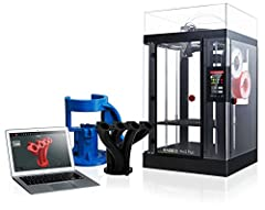 """Dual extruder: electronic driven lifting; 4× increased torque performance; diverse filament compatibility (300℃) Massive build volume (12 x 12 x 23. 8 in); minimum 0. 01Mm layer height Filament sensor/ camera/ hepa filter 7"""" Touch Screen; Resume Prin..."""