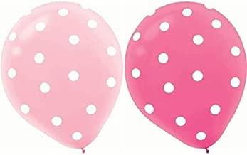 pink polka dot balloons