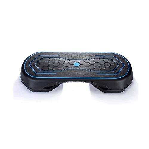 SMX Professionelle Einstellbare Aerobic-Stepper 103cm, 3 Stufen (10/15 / 20cm) Übung Schritt Plattform for Exercise Weight Loss Home Gym und Fitnesstraining (Color : Black)