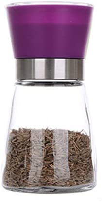 Salt and Pepper mill grinder Glass Max 76% OFF Shaker Spice S New Orleans Mall