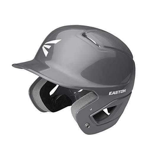 EASTON ALPHA Batting Helmet | Baseball Softball | TBall / Small | Charcoal | 2020 | Dual-Density Impact Absorption Foam | High Impact Resistant ABS Shell | Moisture Wicking BioDRI Liner | Removable E