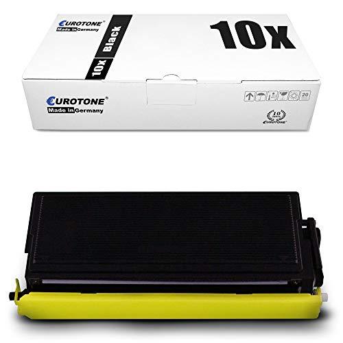 10x Eurotone Toner für Brother DCP 8040 8045 D LT DN ersetzt TN3060 Black TN-3060 Schwarz