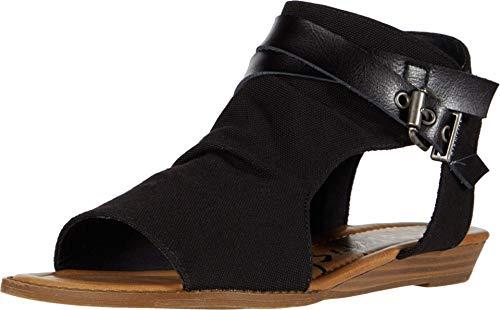 Blowfish Malibu womens Fashion Casual Sandal, Blacksands Recycle, 9 US