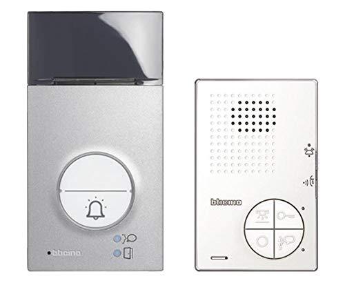 Audio Sprechanlagen-Set Flex'ONE, 2-Draht mit Türstation LINEA 3000, Netzgerät und Hausstation CLASSE 100 A12B, Türstation Schutzarten: IP 54, IK10