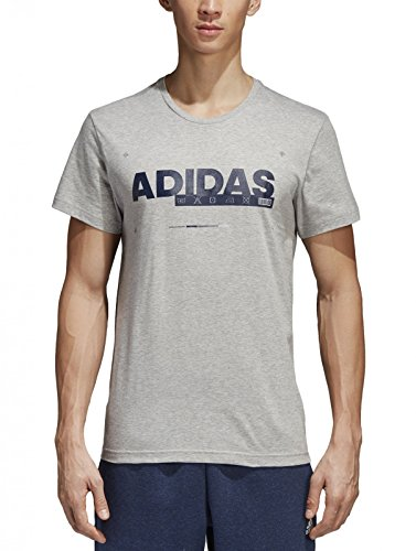 adidas ID Lineage T-Shirt Homme, Mgreyh, FR (Taille Fabricant : XL)