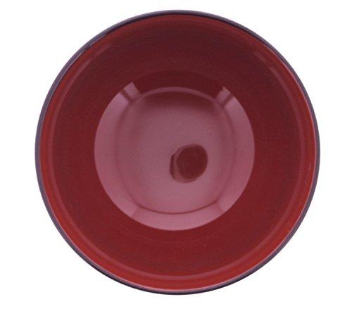 イシダお椀食洗機・電子レンジ対応汁椀古代目PC本体サイズ:11×11×7cm