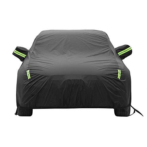 DONGXIN Kompatibel mit Mazda CX-3, Außenplane for Autos wasserdicht, atmungsaktiv, Winddicht, Sonnenschutz, Regen und Schnee (Oxford-Stoff + PP-Baumwolle)