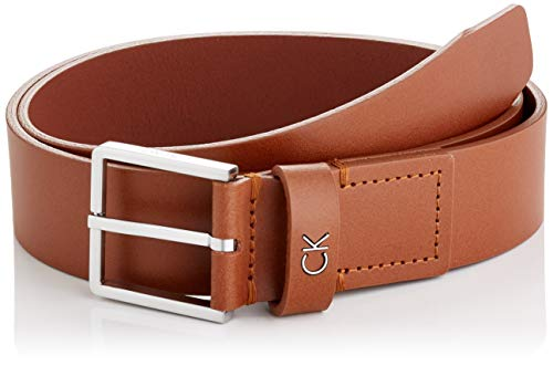 Calvin Klein Formal Belt 3.5cm Cinturón, Marrón (Cognac 223), 100 (Talla del fabricante: 85) para Hombre
