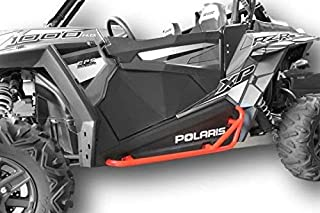 Polaris RZR 900 Trail, 900S, 1000S, XP1000, Turbo, Nerf Bars Rock Sliders - Red