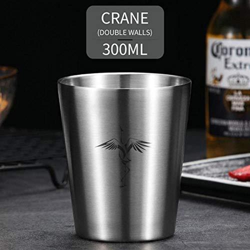 Tasse à café portable en acier inoxydable Cup304 - Double couche