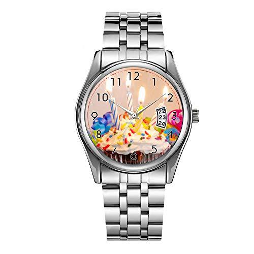 Reloj de lujo para hombre de 30 m impermeable fecha reloj masculino...