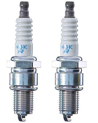 NGK N-BPR5ES 7734 - Juego de 2 tapones para chispas de iridio (2 unidades), color naranja