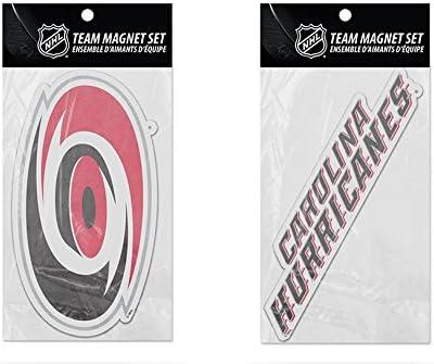 NHL Carolina Hurricanes 2-Pack Ranking TOP13 Die Cut Under blast sales Set Team Logo Magnet