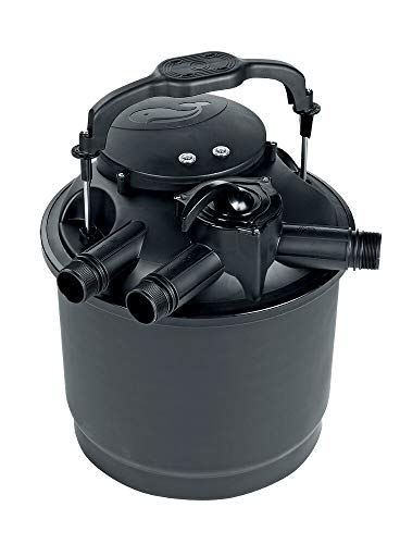 Sicce Kit Filtre à Pression greenre Bassin 60, Noir, 12500 L/H