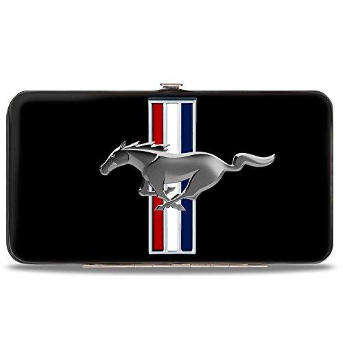 Geldbörse mit Klappscharnier, Mustang, 17,8 x 10,2 cm