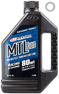 TUSK Transmission Oil Change Kit Maxima MTL Transmission Fluid 80W - Fits: Yamaha Banshee 350 1987-2006