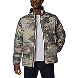Columbia Jacket Chaqueta Powder Lite, Cypress Mod Camo Print, Large-10X-Large para Hombre
