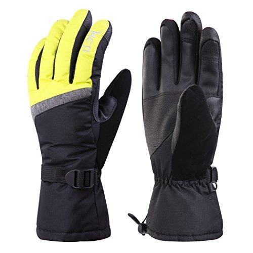 MCTi Skihandschuhe Damen Touchscreen Handschuhe Warm Winterhandschuhe Snowboard Winter Wasserdicht Thinsulate