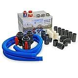 Pool Set Total Bypass universale, adattatore per riscaldamento piscina/ pompa di calore/riscaldamento piscina ad energia solare